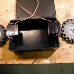 Helmet Bot - Servos for Wheel Motors